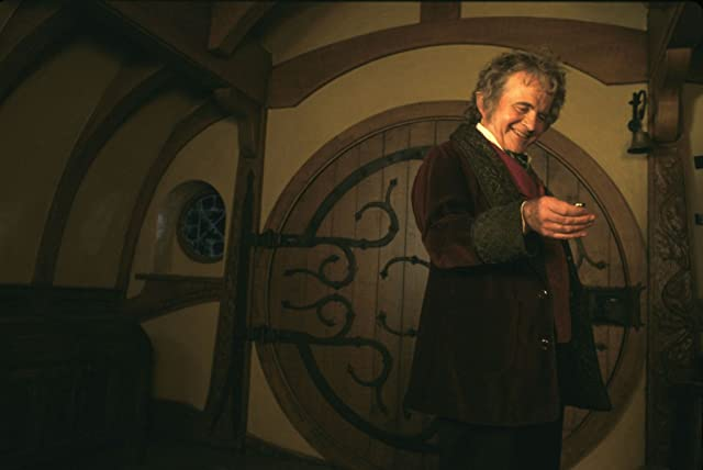 Ian Holm in The Lord of the Rings: The Fellowship of the Ring (2001)