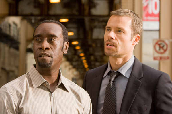 Don Cheadle and Guy Pearce in Traitor (2008)