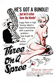 Three on a Spree Poster