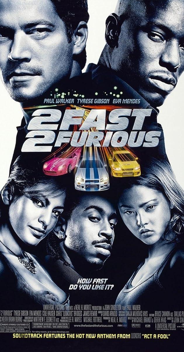 Greiti ir įsiutę 2 / 2 Fast 2 Furious (2003) Online