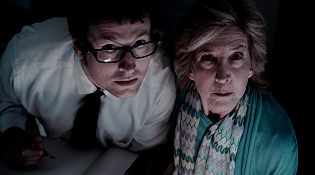Lin Shaye and Leigh Whannell in Insidious (2010)