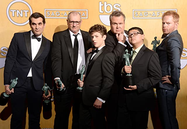 Ty Burrell, Ed O'Neill, Eric Stonestreet, Nolan Gould, and Rico Rodriguez