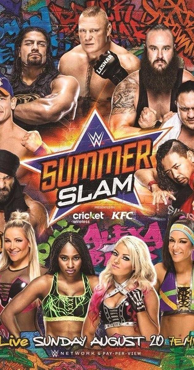 WWE Summerslam (TV Movie 2017) Bluray 480p