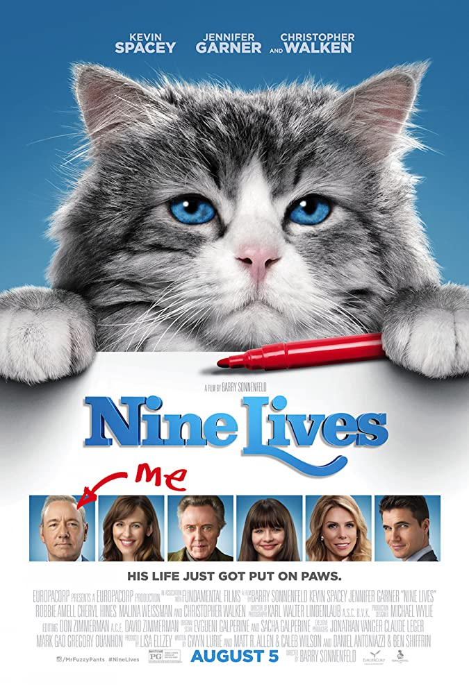 Nine Lives 2016 720p BRRip English WAtch Online Download HD