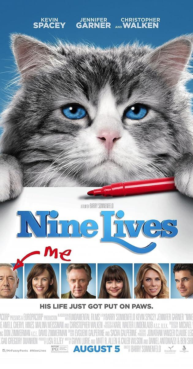 Devyni gyvenimai / Nine Lives (2016) Online