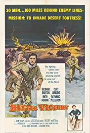 Bitter Victory (1957) Poster - Movie Forum, Cast, Reviews