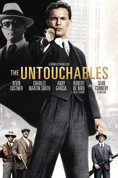 The Untouchables 1987 Hindi Dual Audio 480 BluRay 300MB