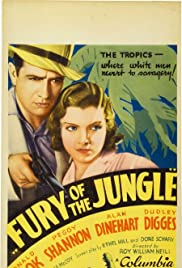 Fury of the Jungle Poster