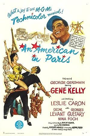 Poster Ein Amerikaner in Paris
