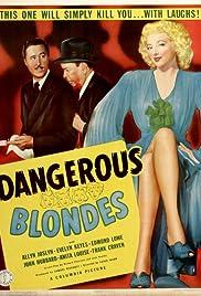 Dangerous Blondes(1943) Poster - Movie Forum, Cast, Reviews
