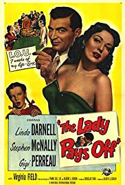The Lady Pays Off Poster