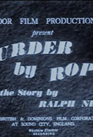 Murder by Rope Poster