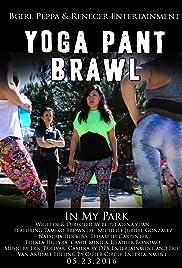 Yoga Pant Brawl Poster