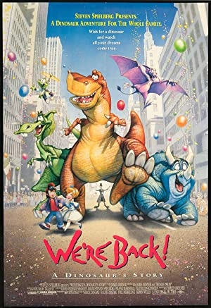 We're Back! A Dinosaur's Story poster