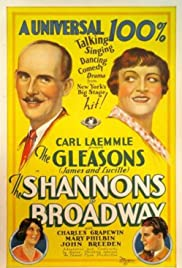 The Shannons of Broadway Poster