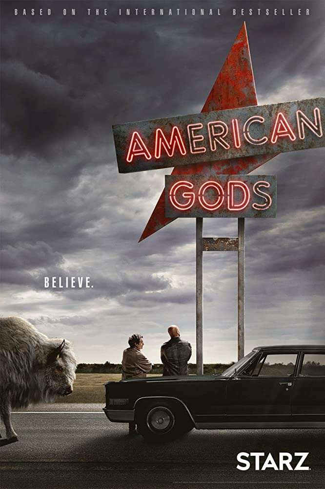 American Gods tv poster