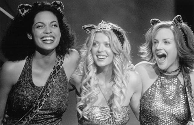 Rachael Leigh Cook, Tara Reid, and Rosario Dawson in Josie and the Pussycats (2001)