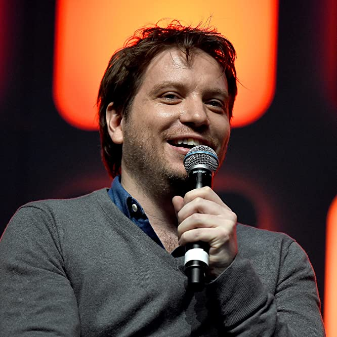 Gareth Edwards at an event for Rogue One (2016)
