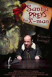 Santa Preys for X-mas Poster