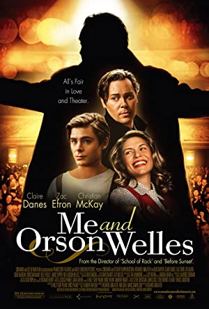 Moi et Orson Welles streaming