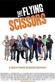 The Flying Scissors Poster
