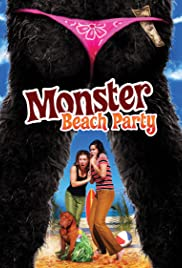 Monster Beach Party Poster