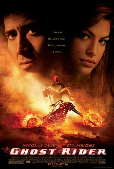 Poster Ghost Rider 2007 Full HD Movie Download Dual Audio 720p Free