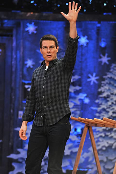 Tom Cruise at an event for Late Night with Jimmy Fallon (2009)