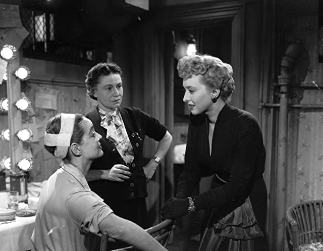 Bette Davis, Celeste Holm, and Thelma Ritter in All About Eve (1950)