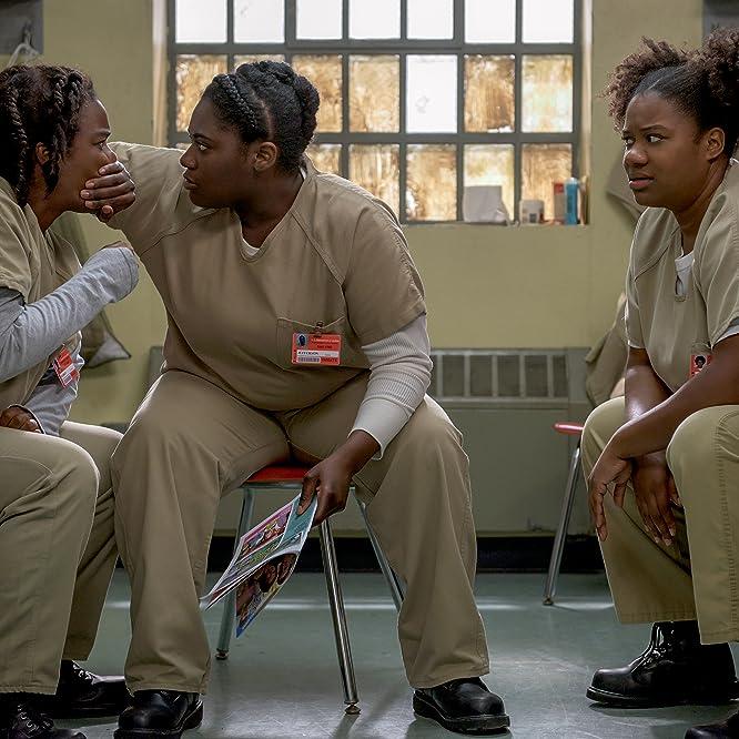 Uzo Aduba, Adrienne C. Moore, and Danielle Brooks in Orange Is the New Black (2013)