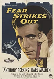 Fear Strikes Out (1957) Poster - Movie Forum, Cast, Reviews