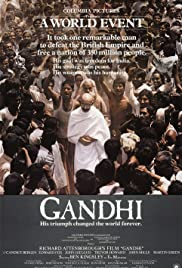 Gandhi (1982) Poster - Movie Forum, Cast, Reviews