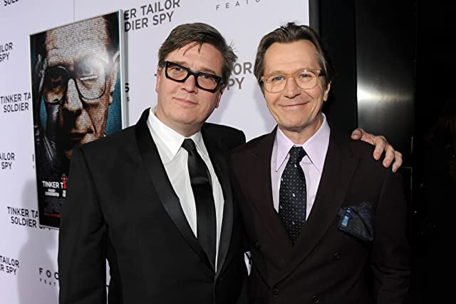 Gary Oldman and Tomas Alfredson at Tinker Tailor Soldier Spy (2011)