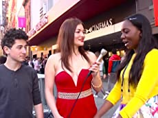 Hannah Townsend Goes Behind the scenes at Tribeca Film Festival