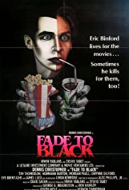 Fade to Black (1980) Poster - Movie Forum, Cast, Reviews