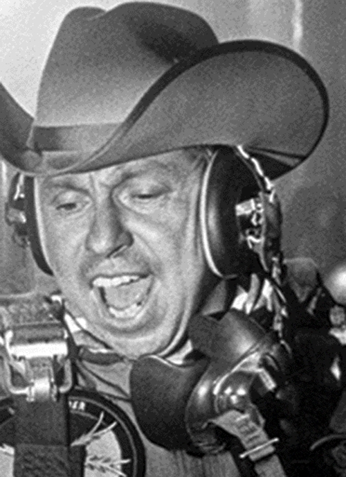 Slim Pickens in Dr. Strangelove or: How I Learned to Stop Worrying and Love the Bomb (1964)