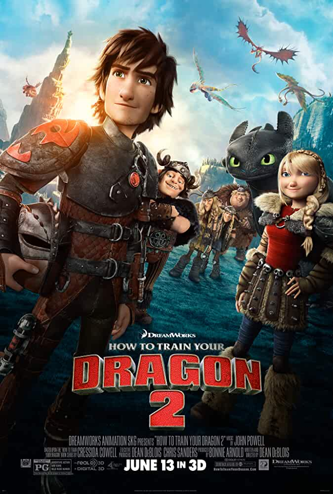 How To Train Your Dragon 2 (2014) 720p BRRip Dual Audio Watch Online Free Download