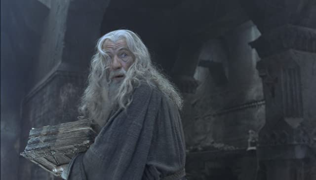 Ian McKellen in The Lord of the Rings: The Fellowship of the Ring (2001)