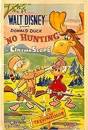 No Hunting Poster