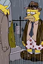Image of The Simpsons: Raging Abe Simpson and His Grumbling Grandson in 'The Curse of the Flying Hellfish'