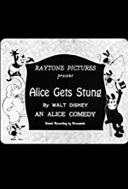 Alice Gets Stung Poster