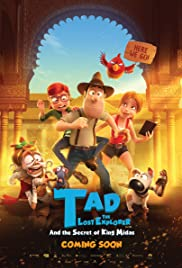 Tad The Lost Explorer and The Secret of king midas 2018