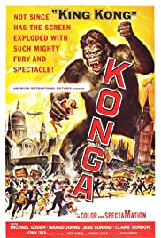 Konga (1961) Poster - Movie Forum, Cast, Reviews