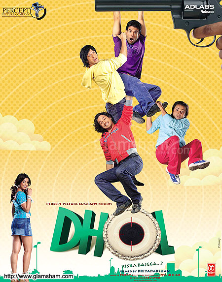Dhol 2007 720p DVDRip Watch Online Free Download HD at Movies365.in