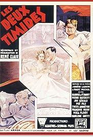Les deux timides Poster