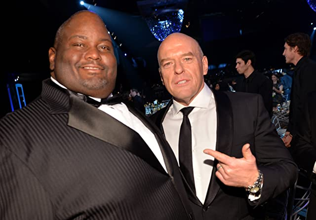 Dean Norris and Lavell Crawford