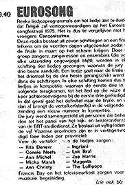 Eurosong 1975 Poster