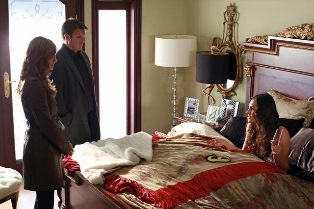 Nathan Fillion, Stana Katic, and Taylor Cole in Castle (2009)