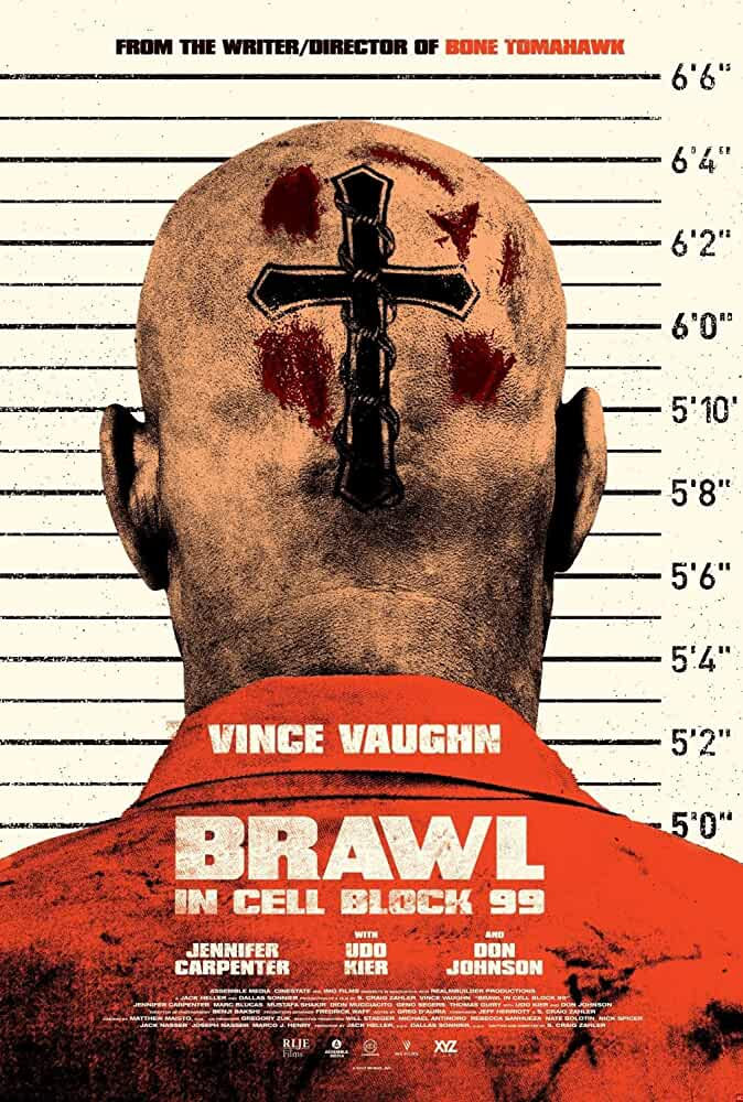 Brawl in Cell Block 99 2017 English 720p Web-DL full movie watch online freee download at movies365.org