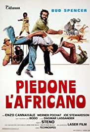 Piedone l'africano Poster